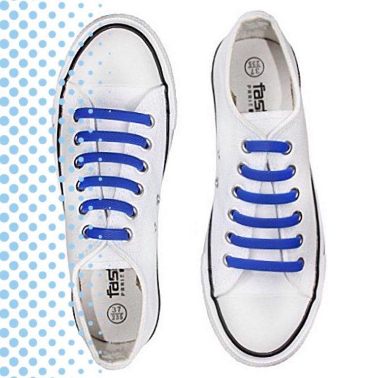 синие шнурки на кроссовках2 для web