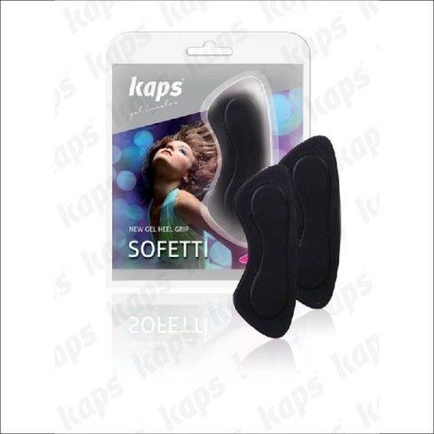 Наклейки на задник обуви Kaps Heel Grip Black