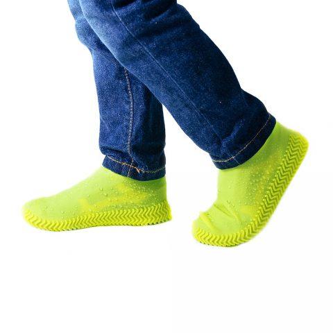 Бахилы для обуви от дождя Coolnice желтые