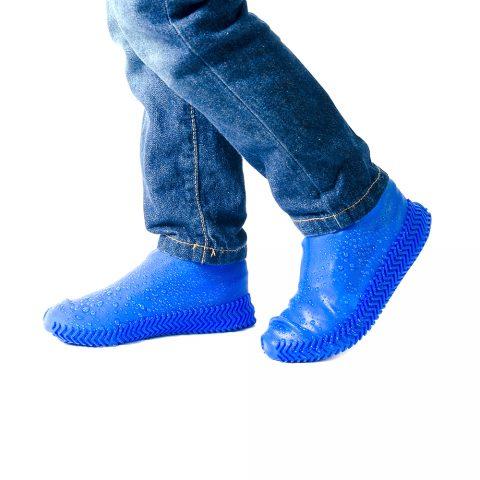 Силиконовые чехлы для обуви Coolnice синие