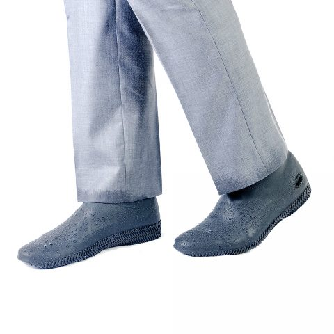 Силиконовые чехлы для обуви серые
